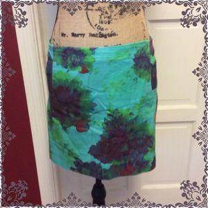 🦉Cute J. Crew floral mini skirt 🦉